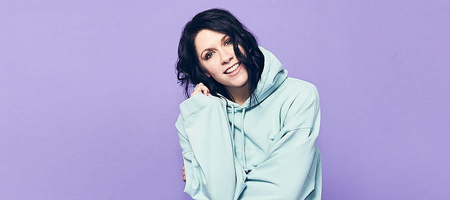 Photo of K. Flay, here to slay (and stay)