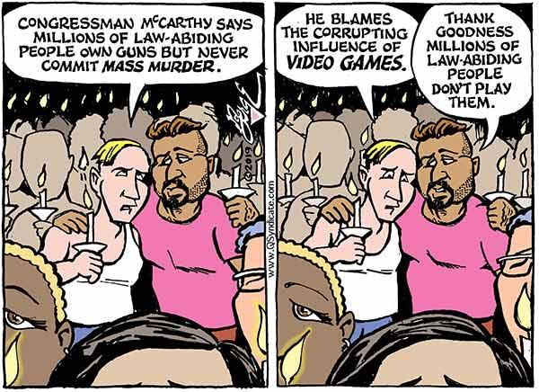 Photo of Cartoon – Blame Games