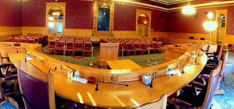 Salt Lake City Council chambers