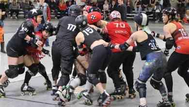 Photo of Wasatch Roller Derby 2020 season opener