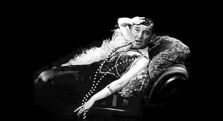 Gov Herbert clutching pearls