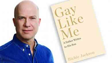 Photo of 'Gay Like Me: A Father Writes to His Son' by Richie Jackson