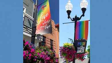 Photo of Park City, Heber City banners celebrate June Pride Month