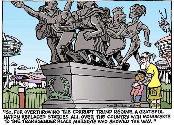 Photo of Cartoon – Bachmann Terror Overdrive