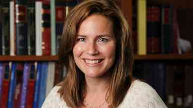 Photo of Amy Coney Barrett