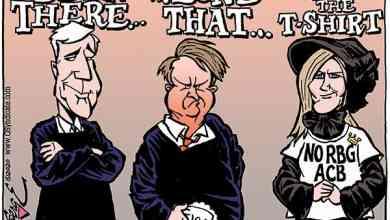 Photo of Cartoon – The Trumply Trio